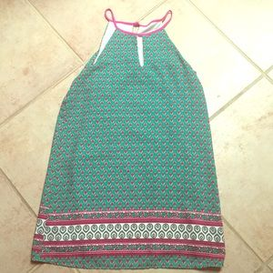 So cute — Blush sleeveless dress
